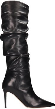 Boots In Black Leather