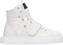 Hypnos Sneakers In White Glitter