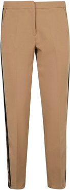 Contrasting Side Bands Trousers