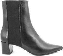 Iris Ankle Boot In Black Leather