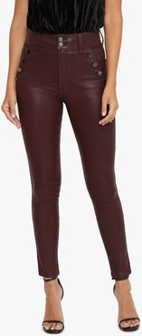Joe's Jeans Women's The High Rise Jeans in Fig/Other Hues | Size 29 | Cotton/Polyester/Elastane