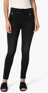 Joe's Jeans Women's The High Rise Jeans in Alamo/Black | Size 34 | Cotton/Spandex/Polyester