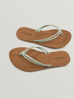 Volcom Forever And Ever Sandals - Spearmint - 7