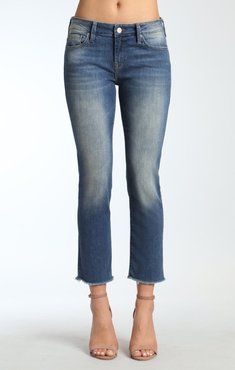 Kerry Ankle Straight Leg In Shaded Ripped Vintage