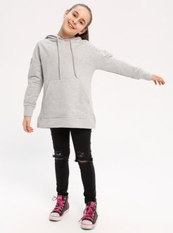 Cotton - Gray - Sweat-shirt - BY LEYAL FOR KIDS