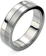 Stainless Steel Spinning Band Ring