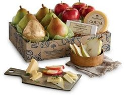 Classic Pears Apple & Cheese Basket