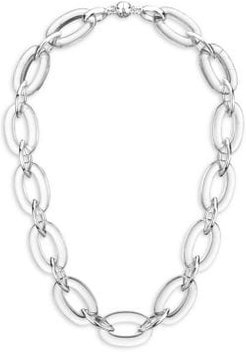 Link Oval & Marquise Necklace