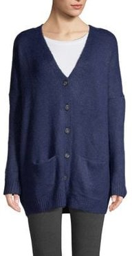 Button-Front Cardigan