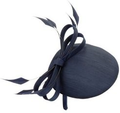 Shantung-Covered Fascinator