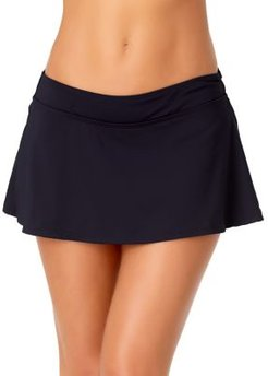 Live In Color Stretch Swim Skirt