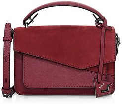 Cobble Hill Leather Satchel - Burgundy