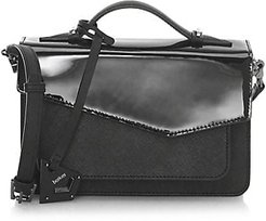 Cobble Hill Leather Satchel - Black