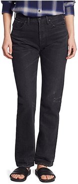 High-Rise Union Slouched Jeans