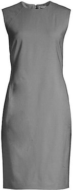 Power Wool Dress - Grey - Size 0