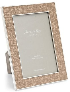 Rectangle Silver-Plated Photo Frame - Sand - Size 4X6