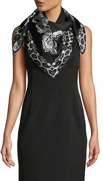 Ornate Silk Scarf