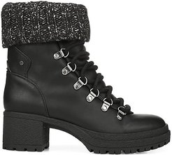 Cardigan Lace-Up Boots