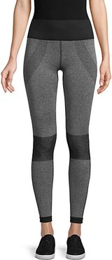 Colorblock Pull-On Leggings
