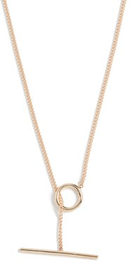 14k Toggle Wrap Chain Necklace