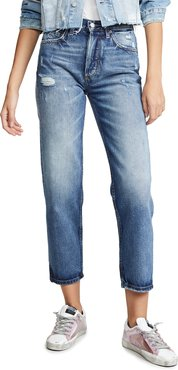 The Tommy High Rise Straight Jeans