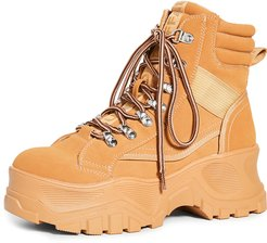 Fendo Lace Up Boots
