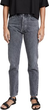 Benefit High Rise Relaxed Straight Jeans