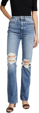 Danielle High Rise Stovepipe Jeans