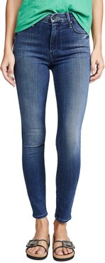 High Rise Looker Ankle Jeans