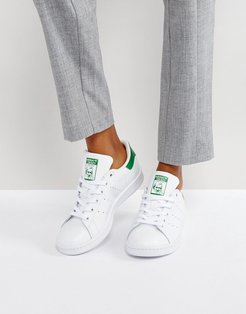 Stan Smith sneakers in white and green