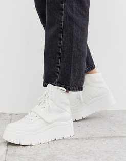 by ALDO Rollerbabes platform chunky sneakers in white