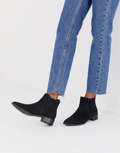 by ALDO Winonaa flat ankle boots in black