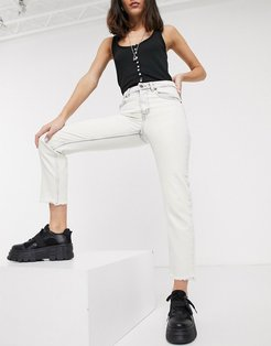 Revive bootcut jeans-White