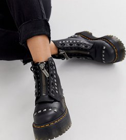 x ASOS exclusive studded Sinclair chunky boots in black