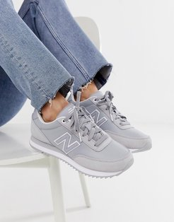 501 gray and white sneakers