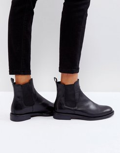 Amina chelsea boots in black leather