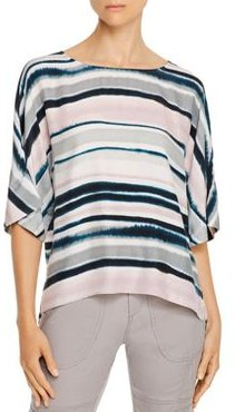 Go Easy Does It Silk Dolman Top
