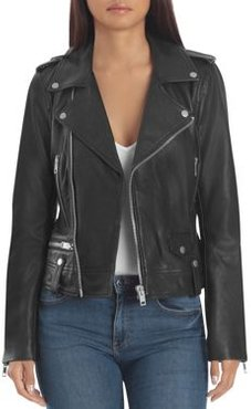 Bagatelle. nyc Leather Biker Jacket