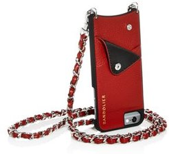 Lucy Leather iPhone Crossbody