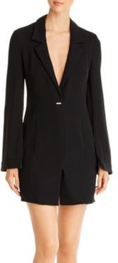 Emporio Armani V-Neck Mini Blazer Dress