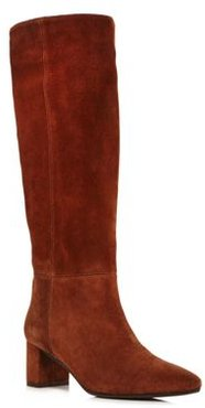 Karen Weatherproof Embossed Leather Tall Boots