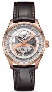 Jazzmaster Viewmatic Skeleton Automatic Watch, 40mm