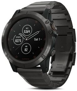 fenix 5X Plus Sapphire Premium Multisport Gps Smartwatch with Titanium Strap, 51mm