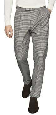 Carp Check Slim Fit Trousers