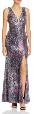 Sequin Illusion Gown - 100% Exclusive