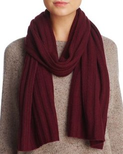 Ribbed Cashmere Scarf - 100% Exclusive