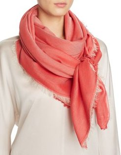 Bordered Tonal Scarf - 100% Exclusive