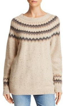 Fair Isle Donegal Cashmere Sweater - 100% Exclusive