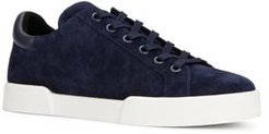 Tyler Round Toe Suede Lace Up Sneakers