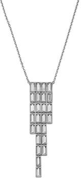 Core Collection Fluid Azzurro Fringe Pendant Necklace, 13
